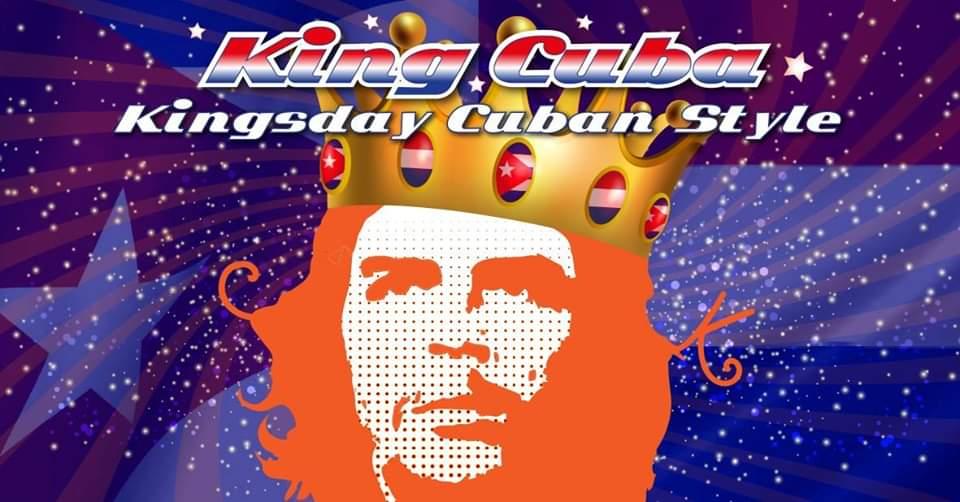 king cuba kingsday poster.